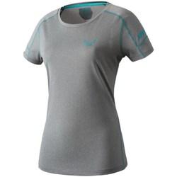 Abbigliamento Donna T-shirt maniche corte Dynafit Transalper W SS Tee Grigio