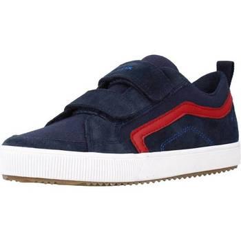 Scarpe Bambino Sneakers basse Geox J ALONISSO BOY A Blu