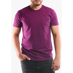 Abbigliamento Uomo T-shirt & Polo Edwin T-shirt avec poche violet
