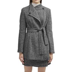 Abbigliamento Donna Cappotti French Connection 75GNA1 Grigio
