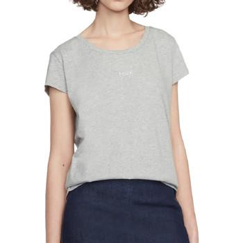 Abbigliamento Donna T-shirt maniche corte French Connection 76IXM1 Grigio