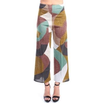 Abbigliamento Donna Pantaloni da completo Circus Hotel S1/H1SN12 Classici Donna Multi khak Multi khak