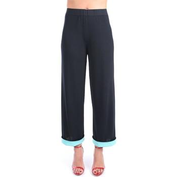 Abbigliamento Donna Pantaloni da completo Liviana Conti S1/F1SA20 Classici Donna Notte-ocean Notte-ocean