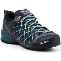 Scarpe Donna Trekking Salewa Buty trekkingowe  Wildfire GTX 63488-3838 granatowy, blue, black