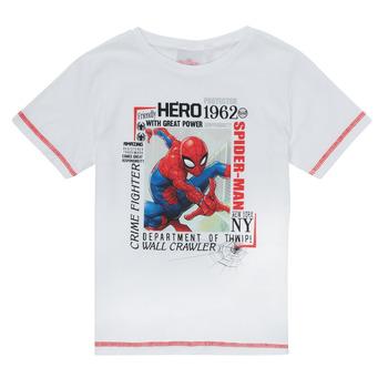 Abbigliamento Bambino T-shirt maniche corte TEAM HEROES  SPIDERMAN TEE Bianco