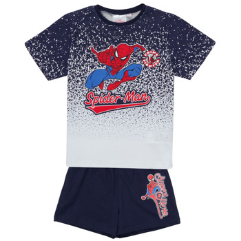 Abbigliamento Bambino Completo TEAM HEROES  SPIDERMAN SET Multicolore