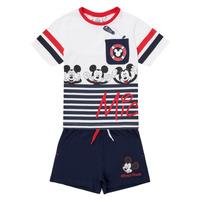 Abbigliamento Bambino Completo TEAM HEROES  MICKEY SET Multicolore