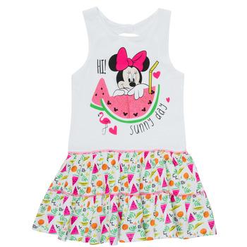 Abbigliamento Bambina Abiti corti TEAM HEROES  MINNIE DRESS Bianco
