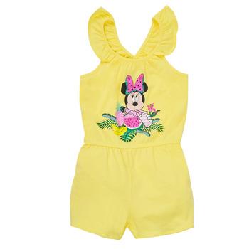 Abbigliamento Bambina Tuta jumpsuit / Salopette TEAM HEROES  MINNIE JUMPSUIT Giallo