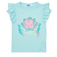 Abbigliamento Bambina T-shirt maniche corte TEAM HEROES  PEPPA PIG TEE Blu