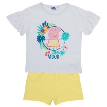 Abbigliamento Bambina Completo TEAM HEROES  PEPPA PIG SET Multicolore