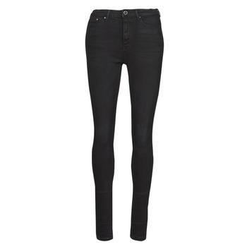 Abbigliamento Donna Jeans slim Only ONLPAOLA Nero