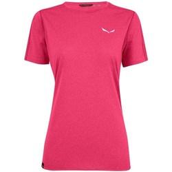 Abbigliamento Donna T-shirt maniche corte Salewa Pedroc 3 Dry W Rosa