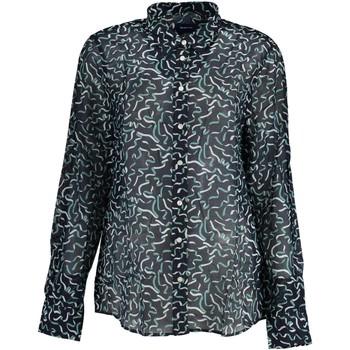 Abbigliamento Donna Camicie Gant 2001.4320120 BLU 433