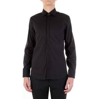 Abbigliamento Uomo Camicie maniche lunghe Manuel Ritz 3030E651-213229 Nero