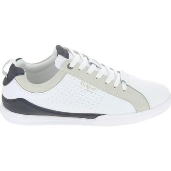 Scarpe Uomo Sneakers basse Kickers Tampa Blanc Bleu Bianco