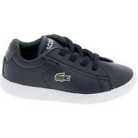 Scarpe Sneakers basse Lacoste Carnaby BB Marine Blanc Blu