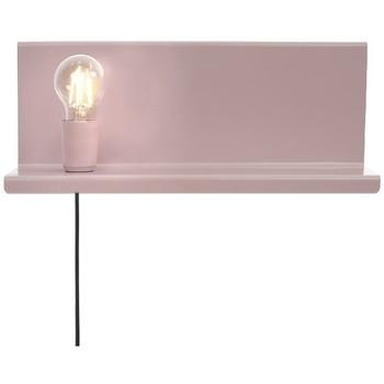 Casa Applique Homemania Lampada a Parete Shelfie2, Rosa, L40xP14xA17 cm Rosa