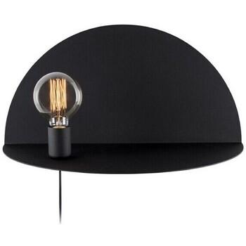 Casa Applique Homemania Lampada da Parete Shelfie, Nero, L50xP25xA25 cm Nero
