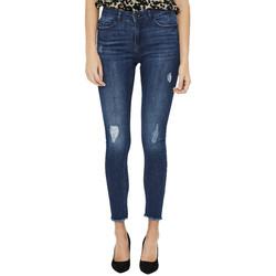Abbigliamento Donna Jeans skynny Noisy May 27009513 Blu