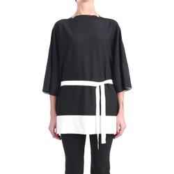 Abbigliamento Donna Top / Blusa Liviana Conti S1/F1SA08 Girocollo Donna Nero/nat Nero/nat
