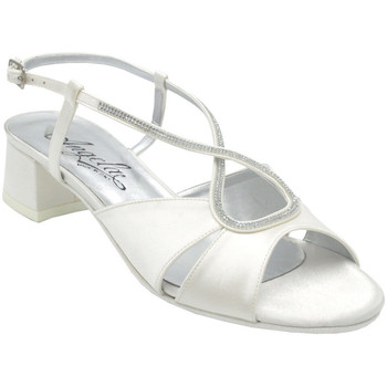 Scarpe Donna Sandali Angela Calzature ASPANGC1039bc bianco