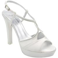 Scarpe Donna Sandali Angela Calzature ASPANGC5107bc bianco