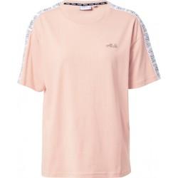 Abbigliamento Donna T-shirt maniche corte Fila T shirt  Jakena Taped Tee 683395 Donna Rosa Rosa