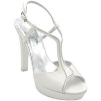 Scarpe Donna Sandali Angela Calzature ASPANGC7152bc bianco