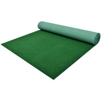 Casa Piante artificiali Vidaxl Erba Artificiale con Tacchetti PP 3x1 m Verde Verde