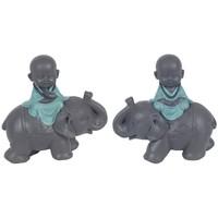 Casa Statuette e figurine Signes Grimalt Buddha Sull'Elefante 2U Azul