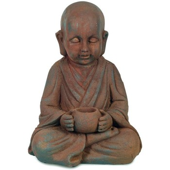 Casa Statuette e figurine Signes Grimalt Buddha Con Pozzo Marrón