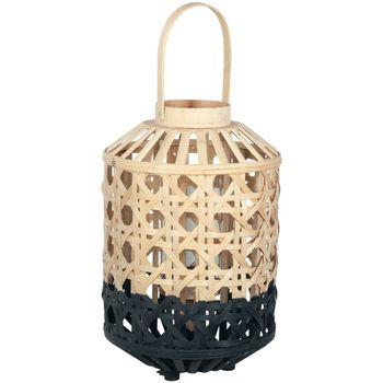 Casa Lampade da tavolo Signes Grimalt Lanterna Piccola In Bambù Naturale Negro