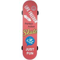 Casa Dipinti, tele Signes Grimalt Ornamento Da Parete Per Skateboard Naranja