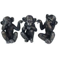 Casa Statuette e figurine Signes Grimalt No Go Orang-Oye-Habla3U Gris