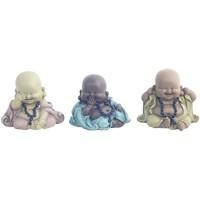 Casa Statuette e figurine Signes Grimalt 3 Diversi Buddha Nel Settembre 3U Multicolor