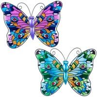Casa Statuette e figurine Signes Grimalt Diverso Farfalla 2 Multicolor