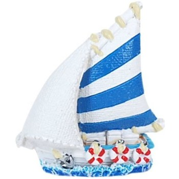Casa Statuette e figurine Signes Grimalt Piccola Barca In Resina Multicolor