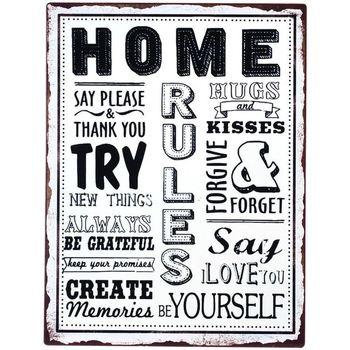 Casa Dipinti, tele Signes Grimalt Home Plate Parete Multicolor