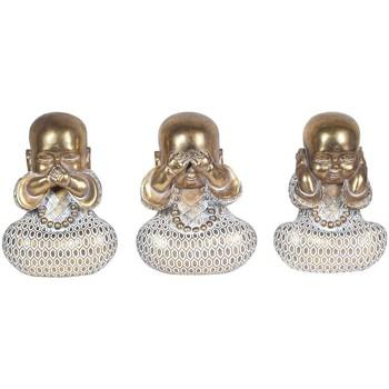 Casa Statuette e figurine Signes Grimalt Buddha Non Vedono-Sentire-Parlare 3U Multicolor