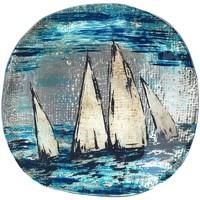 Casa Svuotatasche Signes Grimalt Rotonda Barca Piatto Azul
