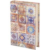 Casa Bauli, scatole di immagazzinaggio Signes Grimalt Scatola Del Libro Multicolor