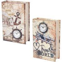 Casa Bauli, scatole di immagazzinaggio Signes Grimalt Book Box 2 Different 2U Multicolor