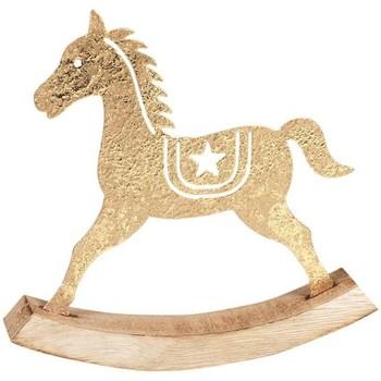 Casa Decorazioni natalizie Signes Grimalt Cavallo Tilting Dorado