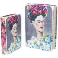 Casa Bauli, scatole di immagazzinaggio Signes Grimalt Scatole Prenota Frida 2U Nel Mese Di Settembre Multicolor