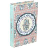 Casa Bauli, scatole di immagazzinaggio Signes Grimalt Fatima A Mano Libro Box Multicolor