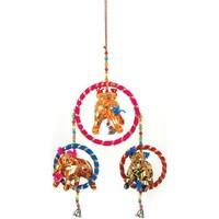 Casa Decorazioni festive Signes Grimalt Ciondolo Elefante Indiano Multicolor