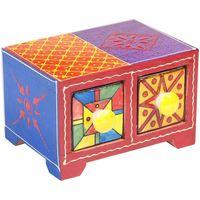 Casa Bauli, scatole di immagazzinaggio Signes Grimalt Especiero 2 Cassetti Multicolor