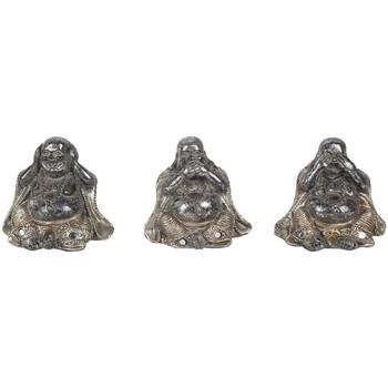 Casa Statuette e figurine Signes Grimalt 3 Diversi Buddha Nel Settembre 3U Plateado