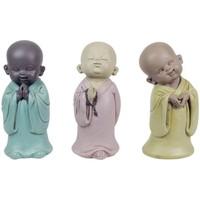 Casa Statuette e figurine Signes Grimalt 3 Buddha Differenti Nel Mese Di Settembre 3U Multicolor